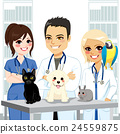 Veterinarian Team Pets 24559875