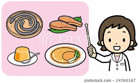 胶原蛋白 食物 食品 24560167