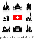 Switzerland Travel Landmarks. 24560631