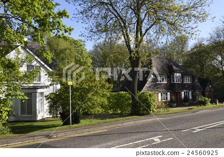 영국의 전원 도시 : 레치 워스의 거리 풍경 24560925