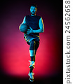 basketball player man Isolated  24562658