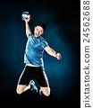 man handball player isolated 24562688