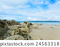海濱 沙灘 布列塔尼 24563318