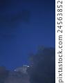 Dark blue sky 24563852