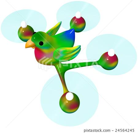 Drone Medium Sized Parakeet 24564245