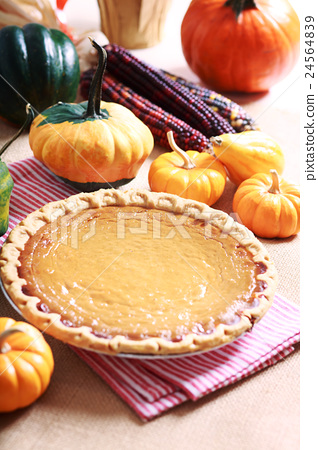 pumpkin pie, py, pie 24564839