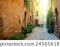 Old Mediterranean town - narrow street  24565618