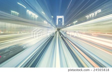 High speed train 24565818