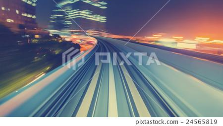 speed, light, freeway 24565819