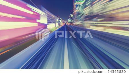 speed, light, freeway 24565820