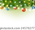 Christmas background with tree and light 24570277