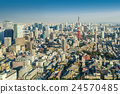 Skyline of Tokyo Cityscape with Tokyo Tower, Japan 24570485