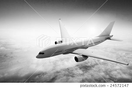 Airplane Flight Departure Journey Trip Concept 24572147