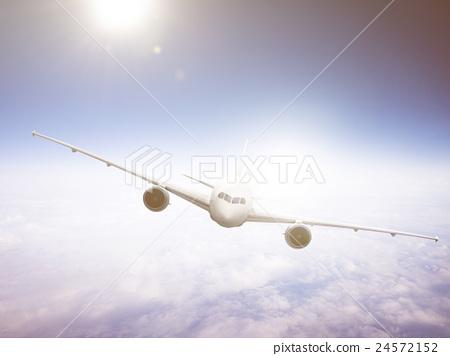 Airplane Travel Destination Outdoors Concept 24572152