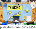 Brainstorming Thinking Think Analysis Ideas Concept 24573456