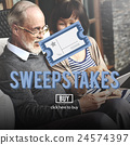 Sweepstakes Chance Betting Gambling Lottery Win Concept 24574397