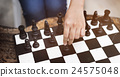 Chess Game Strategy Thinking Hobbies Leisure Concept 24575048