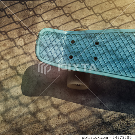 Stock Photo: Skateboard Skater Skating Skill Space Sport Street Concept