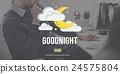 Goodnight Happy Night Fairy Concept 24575804