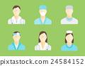 医疗 职员 员工 24584152