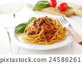 番茄肉酱 意大利面 细意大利面 24586261