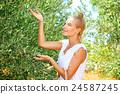 Cute farmer girl 24587245