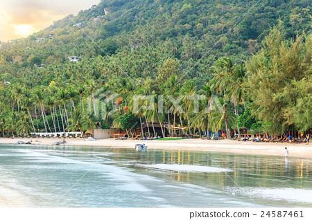 Asian tropical beach paradise 24587461