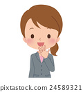 女商人姿勢 24589321