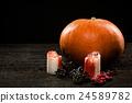 Happy Halloween pumpkin 24589782