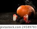 Happy Halloween pumpkin 24589783