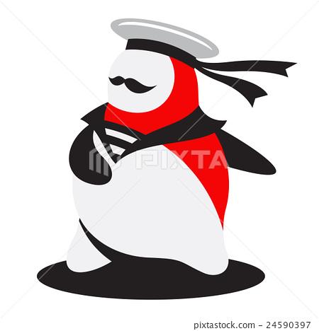 The brave sailor logo 24590397