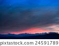 sunset, evening scene, twilight 24591789
