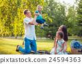 family, park, picnic 24594363