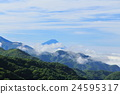 blue, sky, mountain 24595317