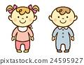 아기 소년 소녀 24595927