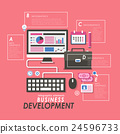 Business development concept 24596733
