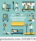 Smart phone addiction 24596778
