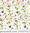 Fodd seamless pattern 24597413