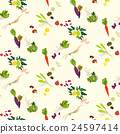 Fodd seamless pattern 24597414