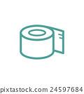 Toilet Paper icon 24597684
