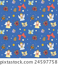 Christmas seamless pattern 24597758