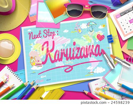 Karuizawa on map 24598239