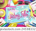 Victoria Falls on map 24598332
