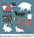 Adorable animals set 24598527