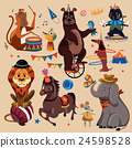 Circus animals set 24598528