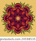 Decorative Mandala ornament 24598535