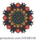 Decorative Mandala ornament 24598548