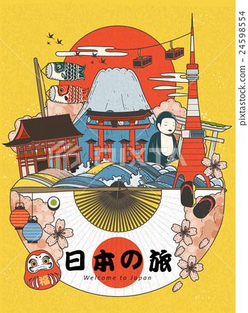 Lovely Japan travel poster 24598554