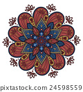 Decorative Mandala ornament 24598559