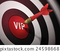 VIP target hitting by dart arrow 24598668